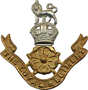 The Loyal Regiment cap badge