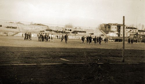Football match against King Farouk's team Cairo December 1941