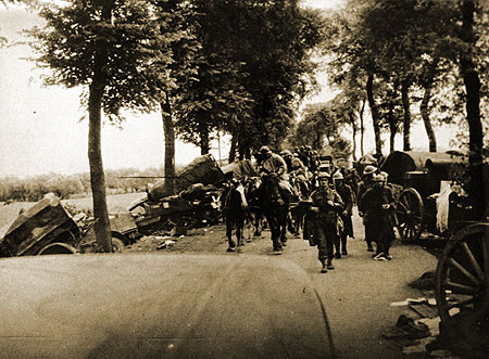The road to Dunkirk May 1940