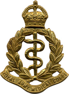 Royal Army Medical Corps cap badge