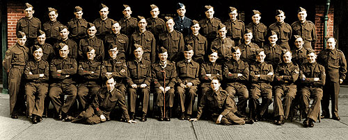 F Company No 1 Platoon Bolton Home Guard (The Loyal Regiment)