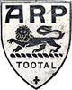 Tootal factory ARP lapel badge
