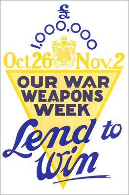 War Weapons Week Poster 1940