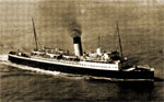The SS Canterbury on which Ernest escaped from Dunkirk, 29 May 1940